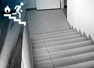 Pressurização<br>de Escadas